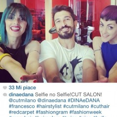 Dina&Dana new look by Francesco Buscicchio for cut milano.
